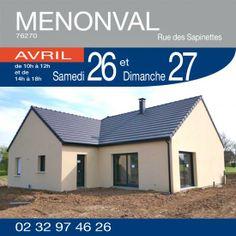 Portes ouvertes à Menonval (76270) les 26 et 27 Avril 2014 http://www.habitatconcept-fr.com/evenement-368-portes-ouvertes-menonval-76270-26-Avril-2014  Constructeur de Maisons - Habitat Concept