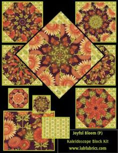 Joyful Blooms Kaleidoscope Kit