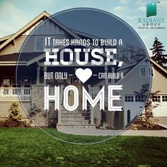 Without #home there is nothing. #radiantstructures.
