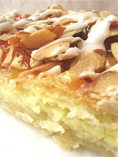 If I had just one recipe to take with me to a dessert island…: King Arthur Flour – Baking Banter - Almond Puff Pastry Almond Recipes, Baking Recipes, Cake Recipes, Dessert Recipes, Almond Rolls Recipe, Almond Tart Recipe, Quiche Recipes, Sausage Recipes, Dinner Recipes