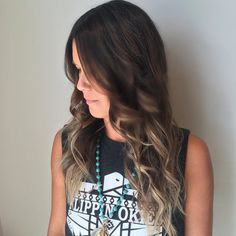 "Love when my clients say ""Take me darker for fall!""  #davinesnorthamerica #kelsidowneystylist"