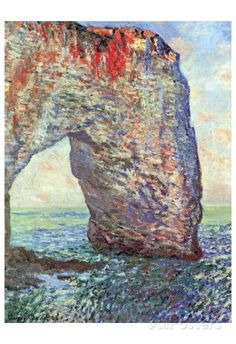 The Manneporte near Etretat, c.1886 Prints by Claude Monet at AllPosters.com