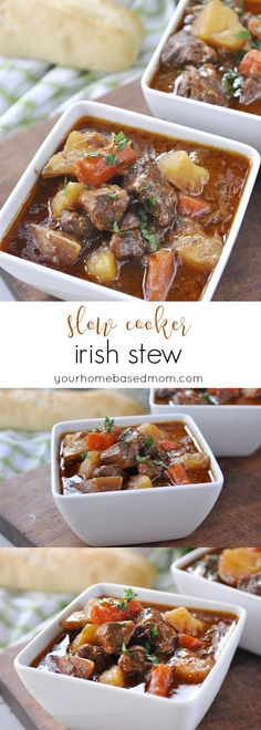Slow Cooker Irish Stew More