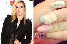 Kesha's Naughty Manicure