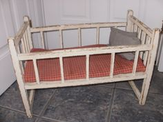 Lovely Vintage Doll Cribs
