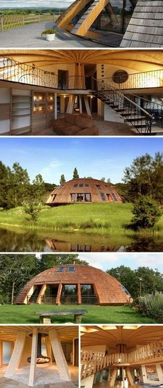Sustainable and Rotating Eco Dome Home wow... anyone want to build this and share it with me?