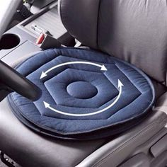 Swivel mat for getting into and out of car.