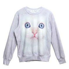 Zero Men's Unisex Top Fashion Punk Rock Galaxy Exaggerating Sweater Shirts (M, No.20)   Find.com  #pullover #sweatshirt #fashion