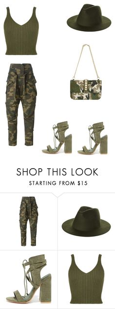 """""""Untitled #108"""" by fefe-tifanie ❤ liked on Polyvore featuring Faith Connexion, RHYTHM, So Me, WearAll and Valentino"""