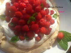 Málnás Pavlova Pavlova, Raspberry, Fruit, Cake, Food, Kuchen, Essen, Meals, Raspberries