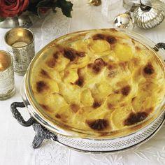 Creamy Potato Gratin  #christmas #holiday #recipes