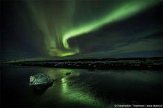 Aurora on Ice