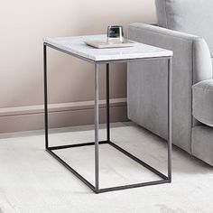 Shop streamline side table from west elm. Find a wide selection of furniture and decor options that will suit your tastes, including a variety of streamline side table. Narrow Side Table, Square Side Table, Glass Side Tables, Black Side Table, White Side Tables, Metal Side Table, Modern Side Table, Glass Table, End Tables