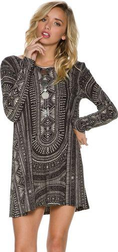 Billabong Setting Free LS Dress. http://www.swell.com/New-Arrivals-Womens/BILLABONG-SETTING-FREE-LS-DRESS?cs=BL