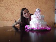 ▶ Bolo de Fraldas - Passo a Passo - YouTube Videotutorial