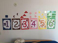 Lär dig räkna med hjälp av babblarna. Matte, Kindergarten, Calendar, Teaching, Holiday Decor, Kids, Numbers, Home Decor, Inspiration