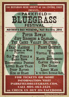 Parkfield Bluegrass Festival 2014!