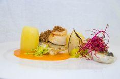 zander, potato confit, bouillabaisereduction, fennel pure, smoked scallop... - The ChefsTalk Project