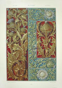 Anton Seder (1850-1916?) — Thistle (1100×1575)