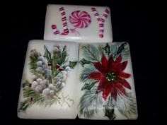 Hand painted soaps