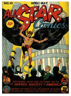 The Justice Society Travels to 2442 AD | Flickr - Photo Sharing!