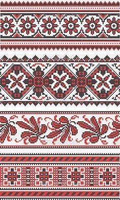 Collection of vegetative ornaments in the Ukrainian style | Stock Vector © Марианна #8152661