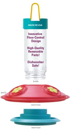 Wide mouth feeder and dishwasher safe!