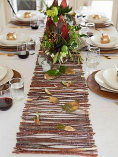 Ma maison au naturel: Décoration d'automne pour notre table