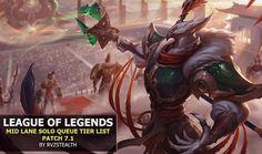 MIX: League of Legends - Mid Lane Solo Queue Tier List ...