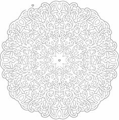 Mandala Maze coloring page Welcome to Dover Publications Mandala Coloring Pages, Colouring Pages, Adult Coloring Pages, Coloring Sheets, Coloring Books, Doodle Patterns, Zentangle Patterns, Zentangles, Doodle Pages
