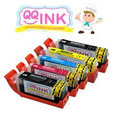 QQink™ Edible Ink Cartridge Multi-Pack for Canon PGI-250 & CLI-251 - qqink.com