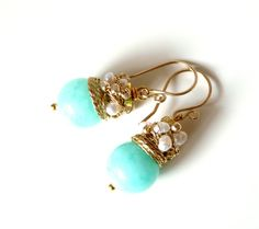 FREE shipping  NEW  Organic  lovely earrings with by anthology27, $26.95