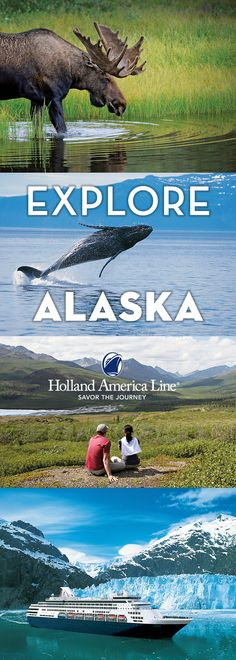 Explore the adventures not found on postcards. See wildlife in its natural environment, learn about the Klondike Gold Rush history and witness the mesmerizing landscapes all around you. With more than 70 years of experience, Holland America Line will take you to breathtaking sights. Cruise to Alaska — a place where untouched beauty and wonder meet.