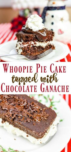 When you need a scrumptious dessert that is easy to make, Whoopie Pie Cake is the one you want. It's so delicious and cleanup is a breeze! #servinguptheseason #ad