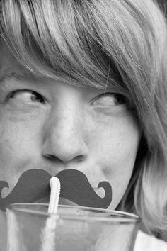 Party with a stache on!