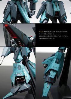 GUNDAM GUY: HGUC 1/144 ORX-005 Gaplant - Customized Build
