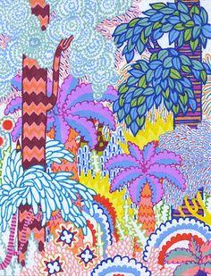 a happy jungle - micah lidberg #ART #NATURE