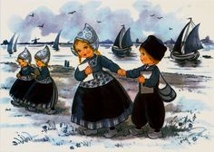 Delft Blue Children 9