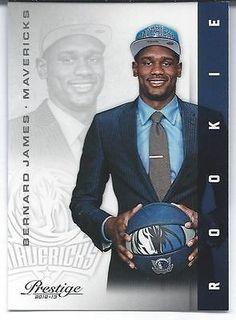 nice 2012-13 Panini Prestige BERNARD JAMES Mavericks Legends RC Rookie NBA Basketball - For Sale View more at http://shipperscentral.com/wp/product/2012-13-panini-prestige-bernard-james-mavericks-legends-rc-rookie-nba-basketball-for-sale/