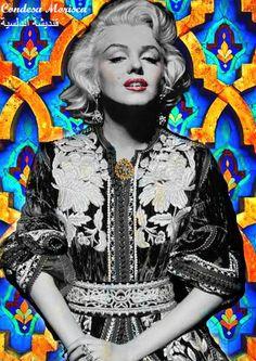 #CondesaMorisca #MarilynMonroe