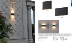12W Aluminium Outdoor Garden LED Wall Light on Made-in-China.com Led Down Lights, Led Wall Lights, Garden Wall Lights, 1w Led, Led Furniture, Under Cabinet Lighting, Western Union, Outdoor Walls, Downlights
