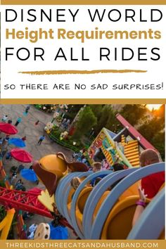 Disney World Height Requirements and Restrictions for Rides (March - Disney World with Kids -- Ideas & Tips - Disney World Secrets, Disney World Outfits, Disney World Rides, Disney World Tips And Tricks, Disney On A Budget, Disney World Vacation Planning, Walt Disney World Vacations, Disney Parks, Trip Planning