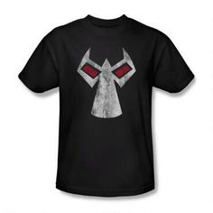 Bane Head T Shirt Licensed Comic Book Tee Black
