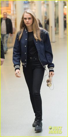 Cara Delevingne Left Modeling Behind Because She Wasn't Happy: Photo #941257. Cara Delevingne meets up with friend as she arrives back in London, England on Sunday afternoon (March 13).    The 23-year-old actress recently opened up in a new…