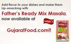 With GujaratFood.com you don't have to worry about your finger licking pickle, you can directly order Father's Ready Mix Masala and enjoy your favorite homemade pickle with just a click away.