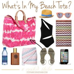 what's in my beach tote?