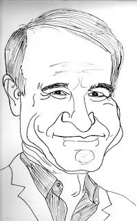 CARICATURAS DELBOY: STEVEN MARTIN