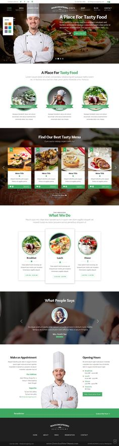 Warungpring is clean HTML #Template for classic and modern feel #restaurant #website. Download Now!