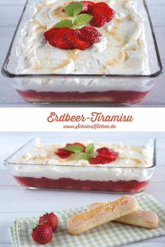 Schnin's Kitchen: Leichtes Erdbeer-Tiramisu