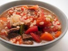 Homestyle Beef Barley Soup | mrfood.com